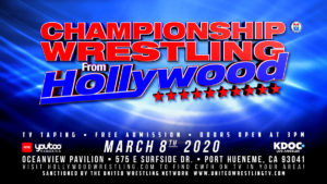 CWFH / Sunday March 8th at 3pm @ Oceanview Pavilion