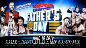 CWFH Special Father's Day Event / Canyon Club Agoura Hills/ Sun June 16th at 7pm / Doors at 4pm @ The Canyon - Agoura Hills
