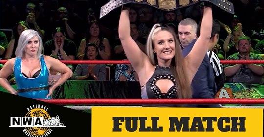 Red Carpet Sneak Peek: NWA World Women's Championship