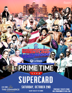 PRIMETIME LIVE AND CHAMPIONSHIP WRESTLING FROM HOLLYWOOD RETURN WITH MULTI-EVENT DEAL AT COMMERCE CASINO @ The Commerce Casino & Hotel